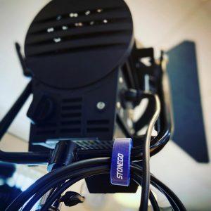Klittenband voor Camera blauw