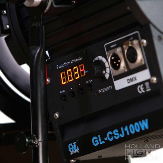 GL-CSJ100WS Fresnel bicolor DMX
