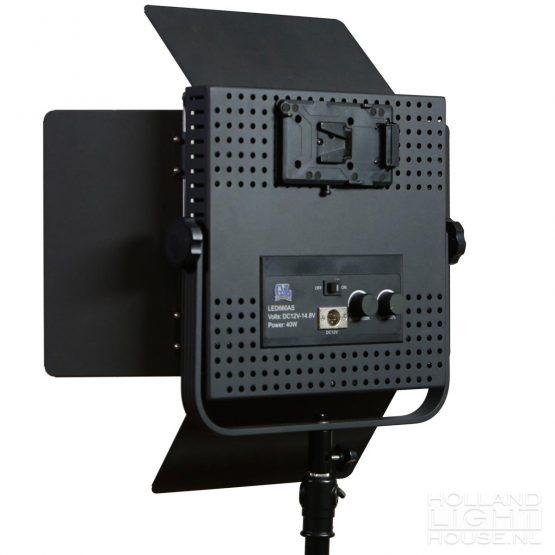 GL-LED600AS achterkant zonder accu