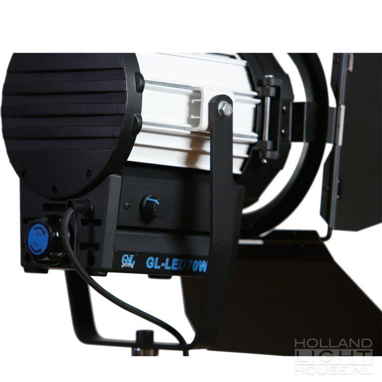 GL-LED70WAD FRESNEL SPOT DETAIL