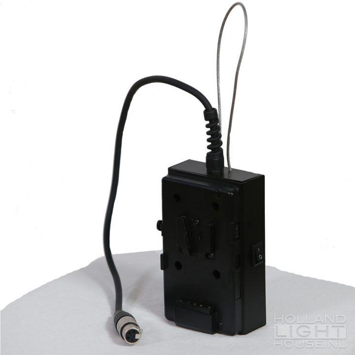 GL-LED70WAD FRESNEL SPOT VLOCK ACCU